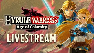 Hyrule Warriors: Age of Calamity Gameplay - TGS 2020 (Japanese)