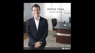 David Ezekiel, Office Yoga Intro  I  UDAYA.com