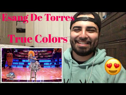Reacting to Esang De Torres Cyndi Lauper /True Colors