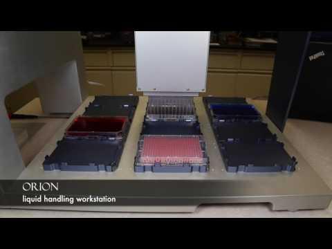 ORION liquid handling workstation
