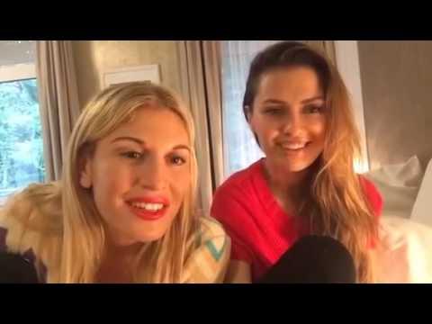 Victoria Bonya and Hofit Golan in Villa Medica Germany on TV channel Periscope Russia