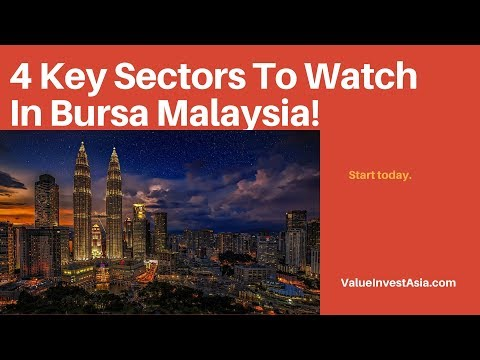 4 Key Sectors To Invest In Bursa Malaysia
