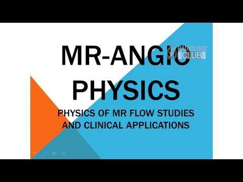 MR Angiography Physics - Magnetic Resonance Angiography Principles - Radiology Seminar