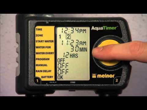 Two Zone Aquatimer Model 3100 Melnor Inc
