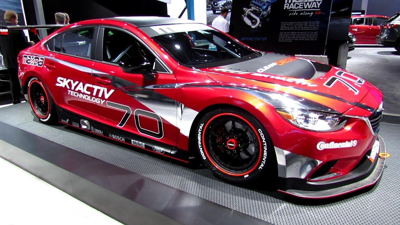 2014 mazda 6 racing exterior walkaround 2013 detroit. Black Bedroom Furniture Sets. Home Design Ideas