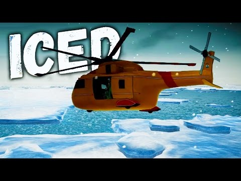 IT'S THE RESCUE HELICOPTER! Iced Ending, We're Getting Out of Here - Iced Gameplay Part 3