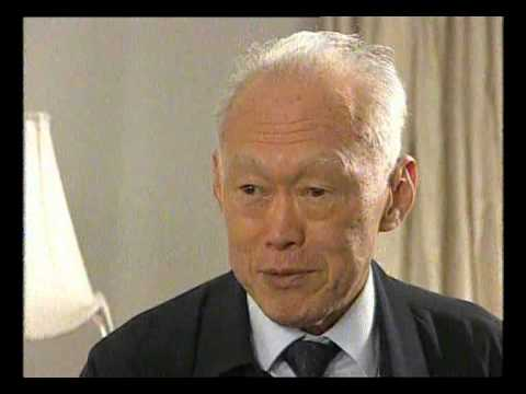 IN CONVERSATION - LATE. LEE KUAN YEW