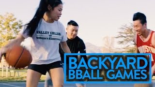 Backyard Basketball Games To Play With Friends Pt. 2 | Fung Bros