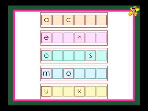 Fill In The Missing Letters Activity - YouTube