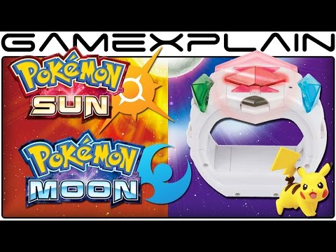 Pokémon Sun & Moon - Playing with the Z-Ring Toy