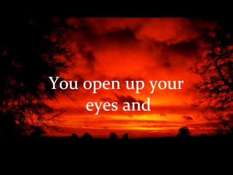 Hope in Front of Me (By Danny Gokey)~Lyrics video