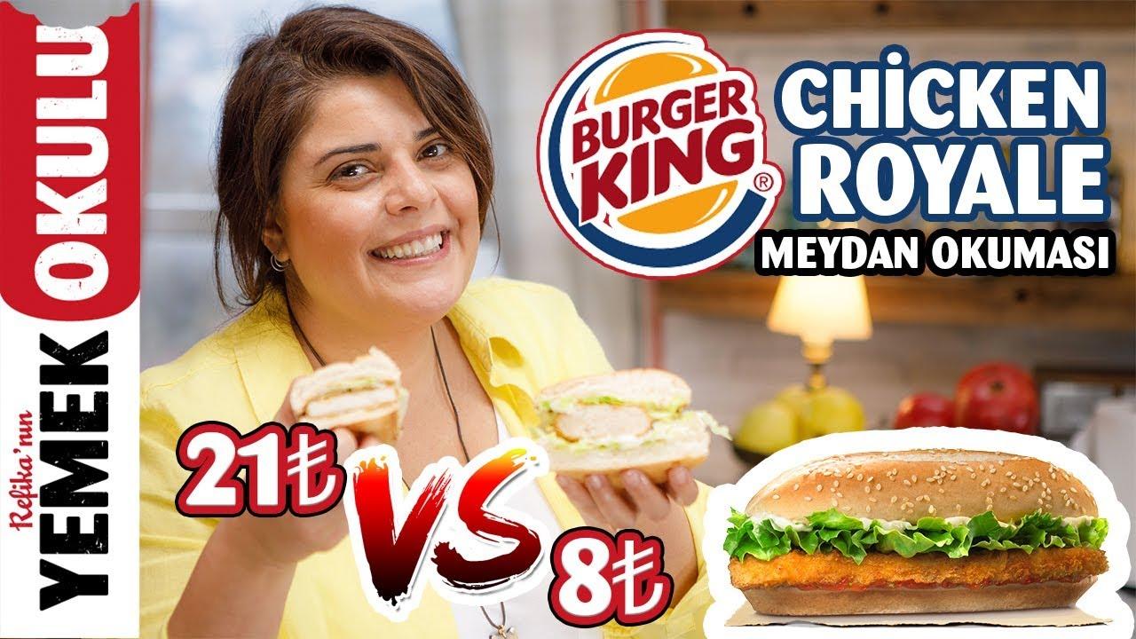 Bu kadar lezzetlisini hiç bir yerde yemediniz! 🍔 TAVUK BURGER TARİFİ. Ev yapımı Hamburger Tarifi.