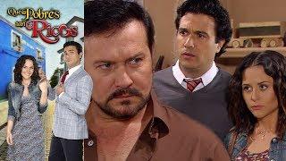 Qué pobres tan ricos: Mike le confiesa a Nepo que él es Ángel Ruizpalacios | Escena - C 94