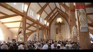 Msza św. z obrzędem poświęcenia kościoła pw. św. Ojca Pio w Gdańsku