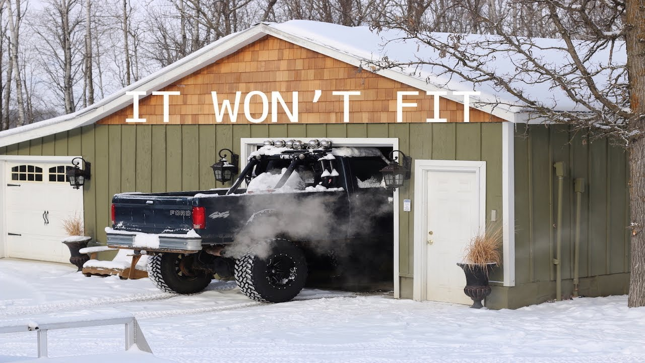 Truck Won T Fit In The Garage