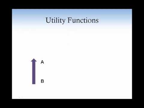 Consumer theory 2. Preferences and Utility function