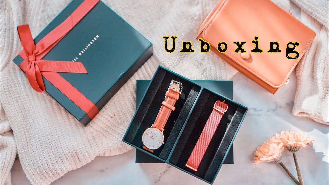 เห่อแกะกล่อง นาฬิกา Daniel Wellington Classic St Mawes พร้อมส่วนลดพิเศษ | Unboxing | Aumbellezza