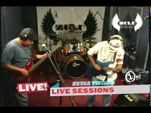 MalaPaz en Zulu Radio Live Sessions - junio 2012 (1/2)