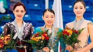 Евгения Медведева ОТЛИЧНО откатала ПП и заняла 2-е место / Александра Трусова попала в книгу Гиннеса