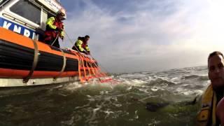 KNRM Katwijk aan zee test helmcamera