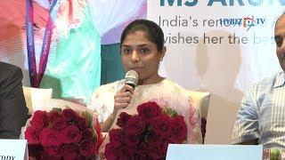 Gymnast Aruna Reddy   Continental Hospitals Disciplinary approach to Helping Athletes