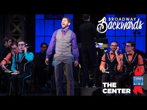 """Tony Yazbeck  - """"Forget About the Boy"""" Broadway Backwards 2016"""