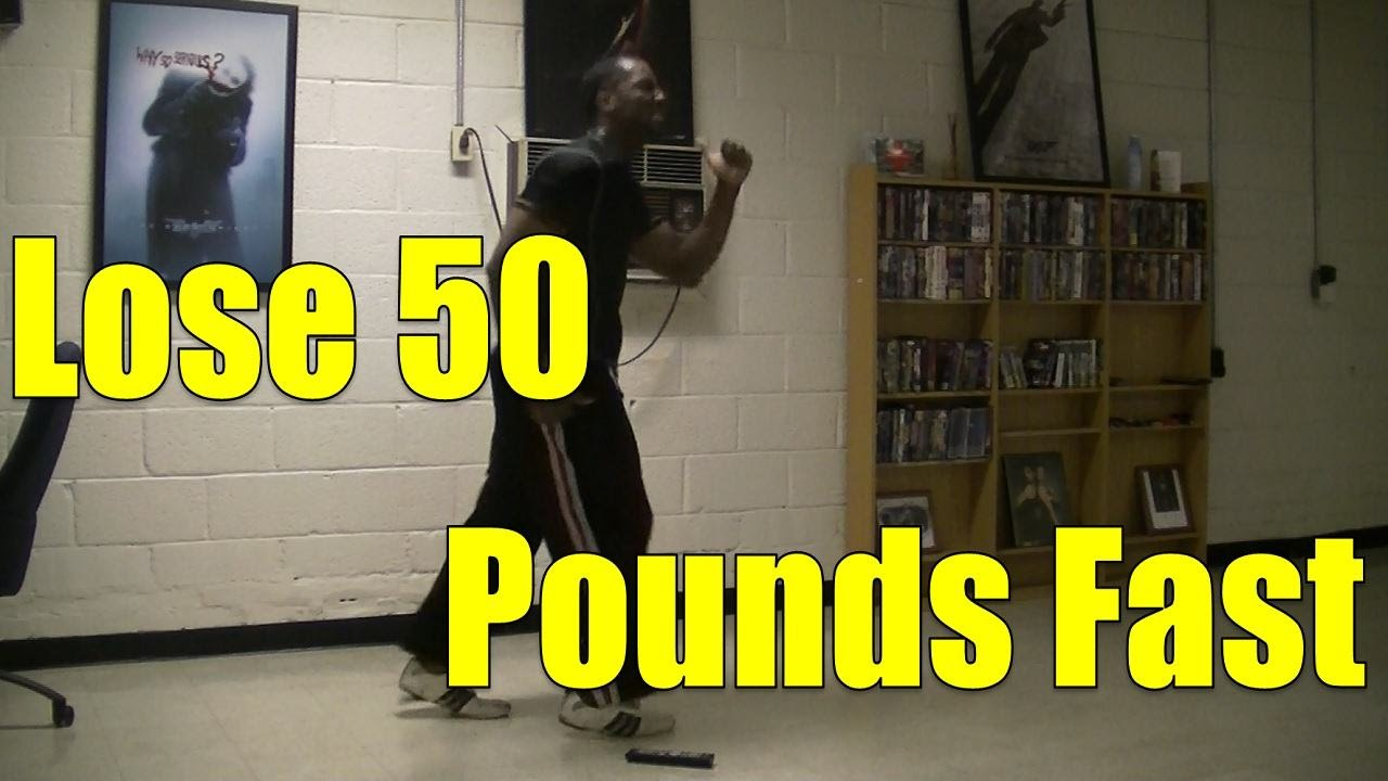 Lose 50 Pounds Fast in 5 months - Ski-Step HIIT Workout #1 ...