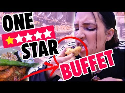 I WENT TO THE WORST REVIEWED BUFFET ON YELP IN MY CITY | Mar
