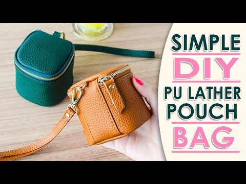 DIY MINI LOVELY PURSE BAG TUTORIAL // Cute Coin Pouch Card Holders