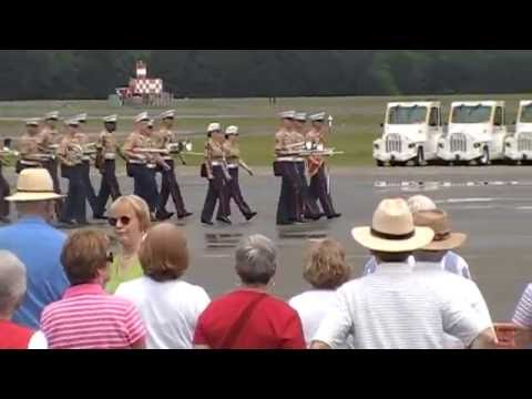 The United States Marine Band at the Beaufort Naval Air Base For the Blue Angels  Air Show.  Part 2.