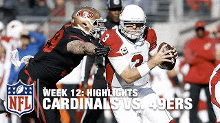 Cardinals vs. 49ers | Week 12 Highlights | NFL