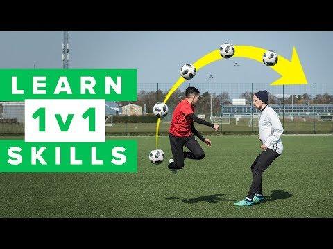 LEARN 5 COOL 1 V 1 FOOTBALL SKILLS