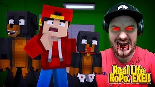 Minecraft Adventure - REAL LIFE ROPO .EXE!!!