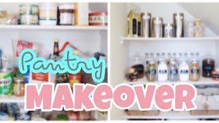 Mempercantik Pantry Dapur | PANTRY MAKEOVER ❤ | Organize With Me!