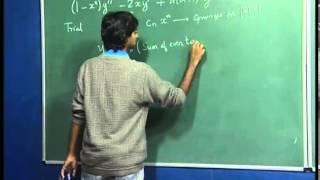 Mod-01 Lec-18 Mathematics for Chemistry