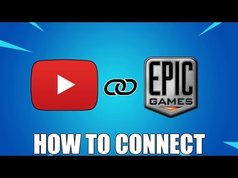 HOW TO CONNECT YOUTUBE TO EPIC GAMES (FREE ITEMS!)