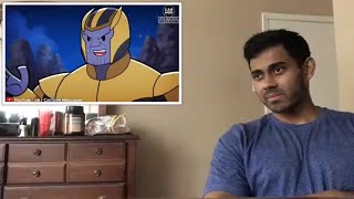 What If This Happened in Avengers Endgame【Marvel Superheroes Parody】CartoonHooligans Reaction