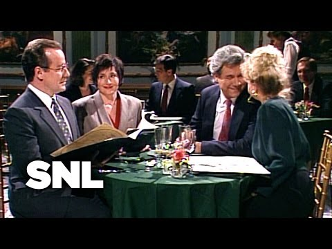 Restaurant Sex Talk - Saturday Night Live