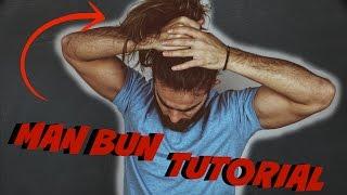 Man Bun Hairstyle Tut๐rial - Top Knot | Arlind Hani