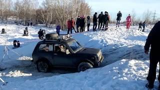 Джип-триал 12.2014 Челябинск. Экипаж 66