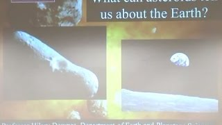 [Science Week 2014] What can asteroids tell us about the Earth?
