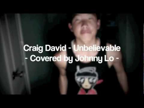 Craig David - Unbelievable (Cover) - Johnny Lo