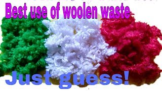 CREATIVE WOOLEN ART | BEST USE OF WOOL | DECOR YOUR HOUSE