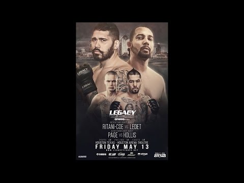 Legacy 55 Prelims - Charles Cheeks vs David Armas