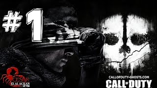 Call of Duty: Ghosts - Gameplay (Español Latino) Parte 1 [HD]