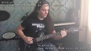 Revelation (Mother Earth) solo - Ozzy Osbourne / Randy Rhoads cover