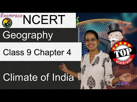NCERT Class 9 Geography Chapter 4: Climate of India