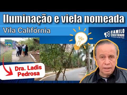 Iluminação da Rua São Cirílo na Vila Califórnia • Camilo Cristófaro