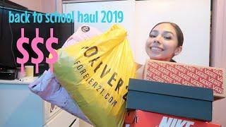 back 2 school clothing haul 2019// prettylittlething,forever 21,etc