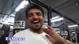 Manny Pacquiao vs Matthysse Victor Ortiz Breaks It Down EsNews Boxing